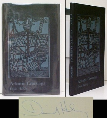 Image for Atlantic Crossings. First Edition in dustjacket, Signed