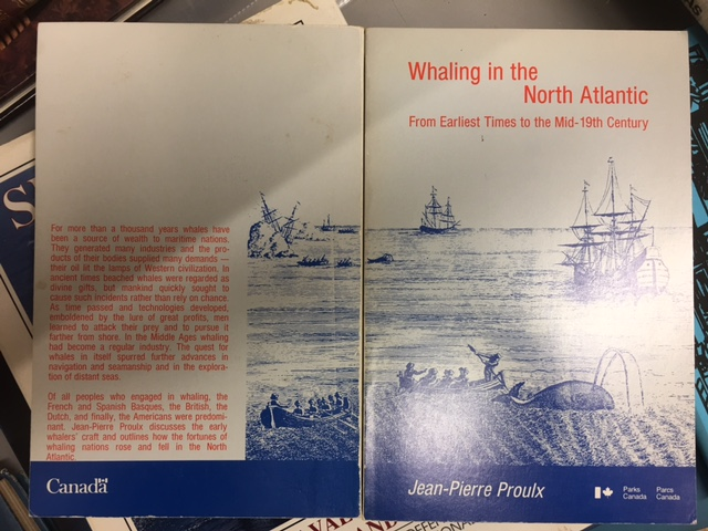 Image for Whaling in the North Atlantic : From Earliest Times to the Mid-19th Century.  First Edition