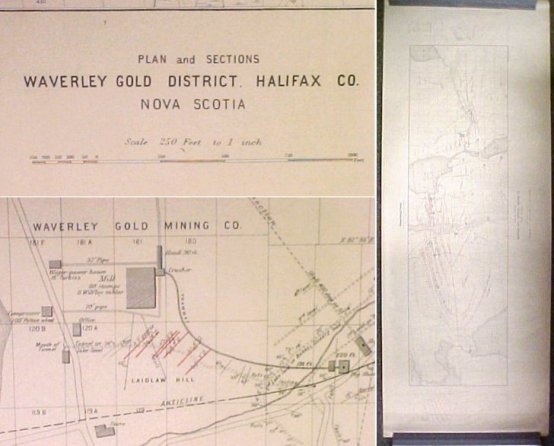 Image for Plans of Gold Districts of Nova Scotia