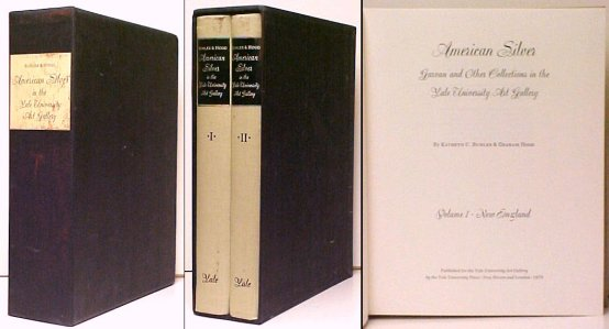 Image for American Silver: Garvan and Other Collections in the Yale University Art Gallery, Vols. I-II.  2 vols in s/case
