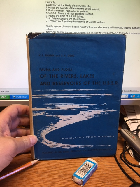 Image for Fauna and Flora of the Rivers, Lakes and Reservoirs of the U.S.S.R.  in dj.