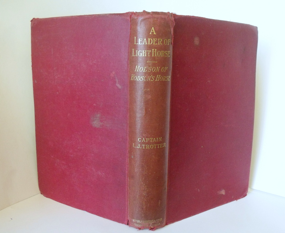 Image for A Leader of Light Horse : Life of Hodson of Hodson's Horse.  First Edition