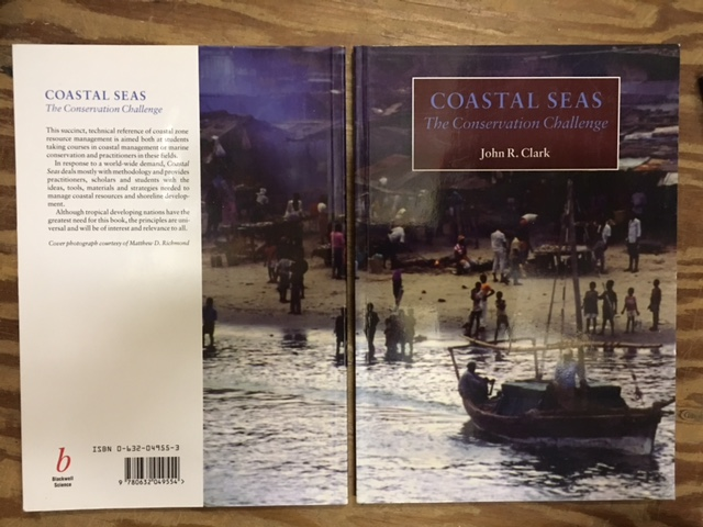 Image for Coastal Seas : The Conservation Challenge.  First Edition