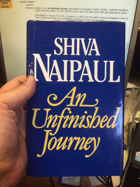 Image for An Unfinished Journey. First Edition in dustjacket