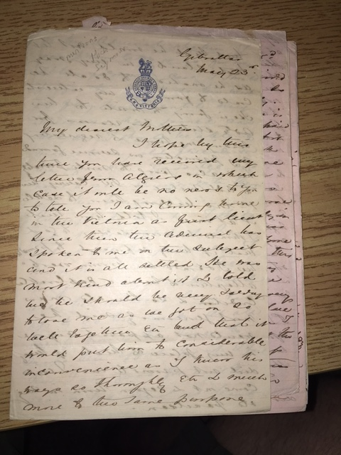 Image for Letters) 11 Autograph Letters Signed. (c. 1860s - 1880s) , written while Kennedy was a young officer serving mostly on the North American Station