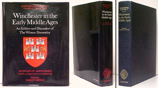 Image for Winchester in the Early Middle Ages : An Edition and Discussion of the Winton Domesday.  in dj.
