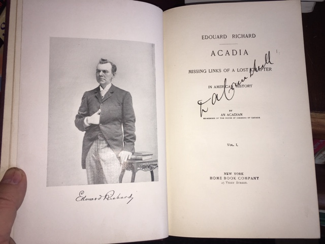 Image for Acadia : Missing Links of a Lost Chapter in American History.  First American Edition.  2 volume set