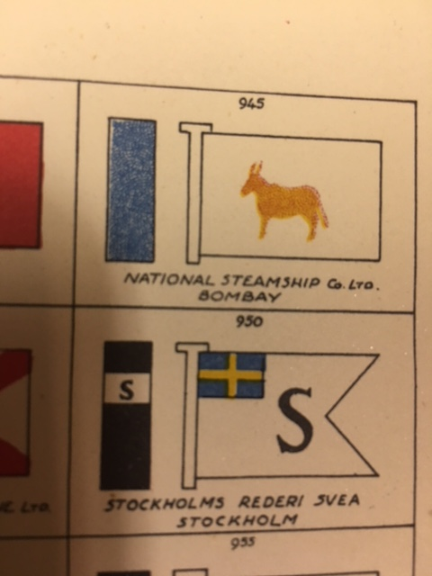 Image for Brown's Flags and Funnels, of British and Foreign Steamship Companies.  5thed.