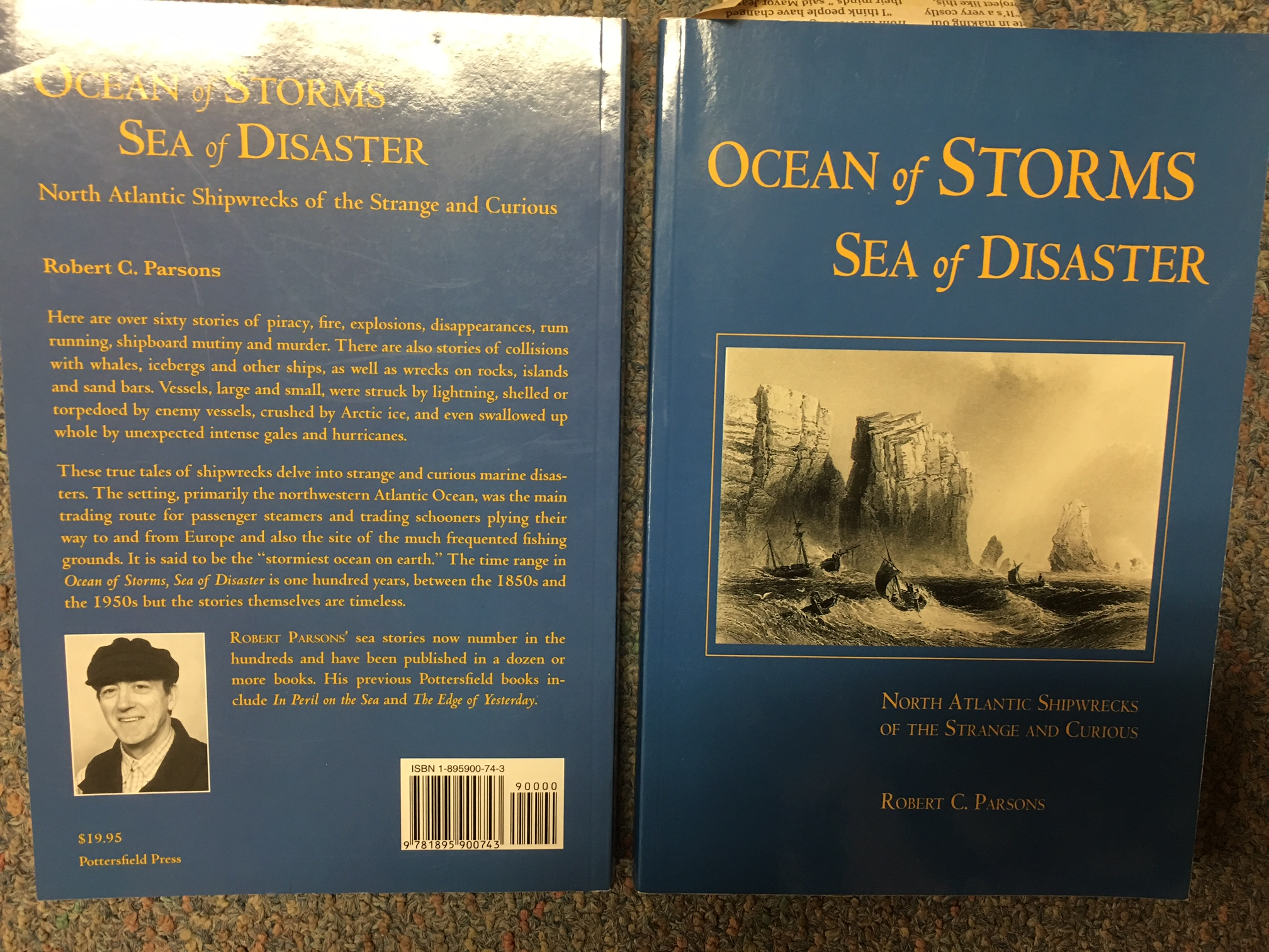 Image for Ocean of Storms, Sea of Disaster : North Atlantic Shipwrecks of the Strangeand Curious.  Paperback.