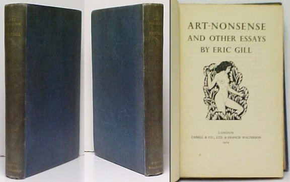 Image for Art - Nonsense and Other Essays. First Trade Edition