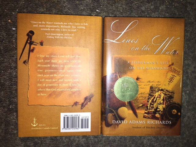 Image for Lines on the Water : A Fisherman's Life on the Miramichi.  First Edition in dustjacket, Signed