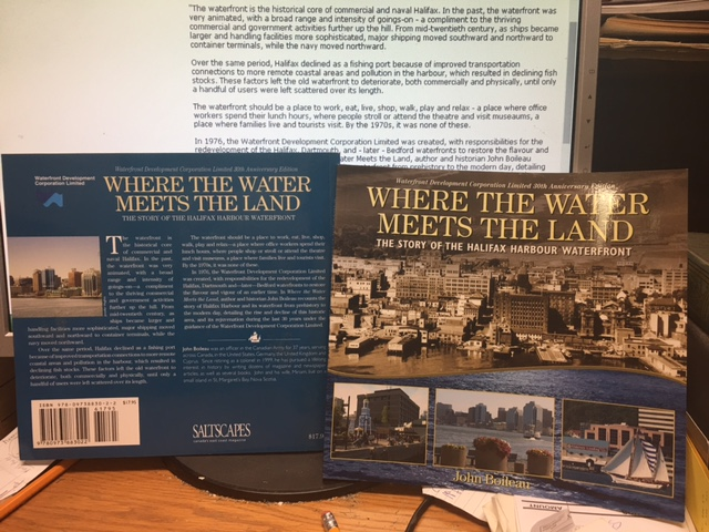 Image for Where the Water Meets the Land : The Story of the Halifax Harbour Waterfront. First Edition