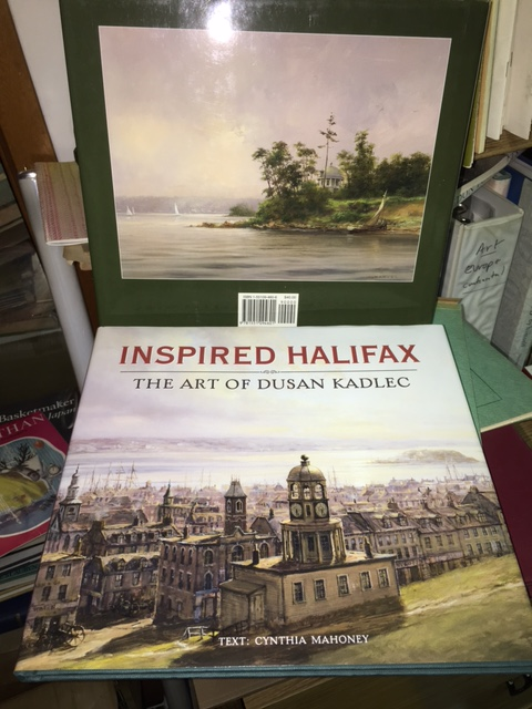Image for Inspired Halifax : The Art of Dusan Kadlec.  First Edition, hardcover in dustjacket.