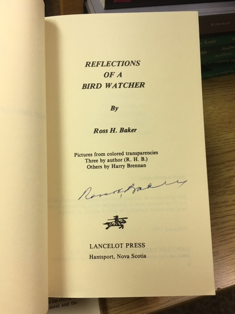 Image for Reflections of a Bird Watcher. First Edition, Signed