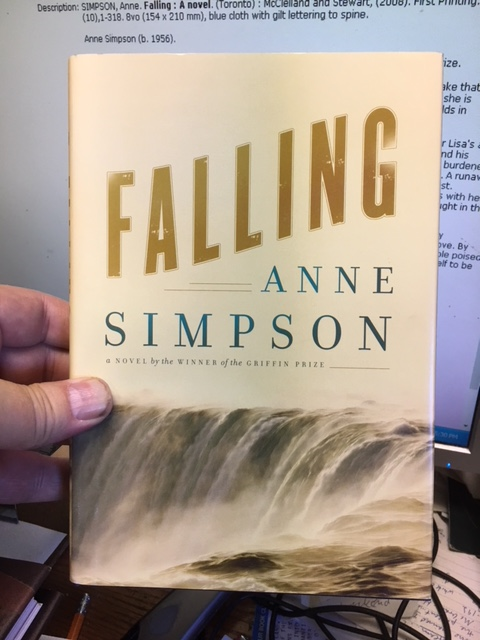 Image for Falling : A novel.  First Edition in dustjacket.