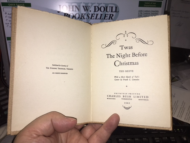 Image for 'Twas the Night before Christmas