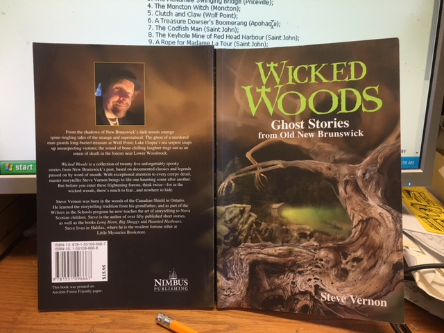 Image for Wicked Woods : Ghost Stories from Old New Brunswick.  First Edition, Signed