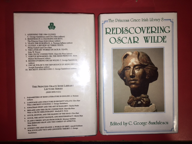 Image for Rediscovering Oscar Wilde. First Edition in dustjacket