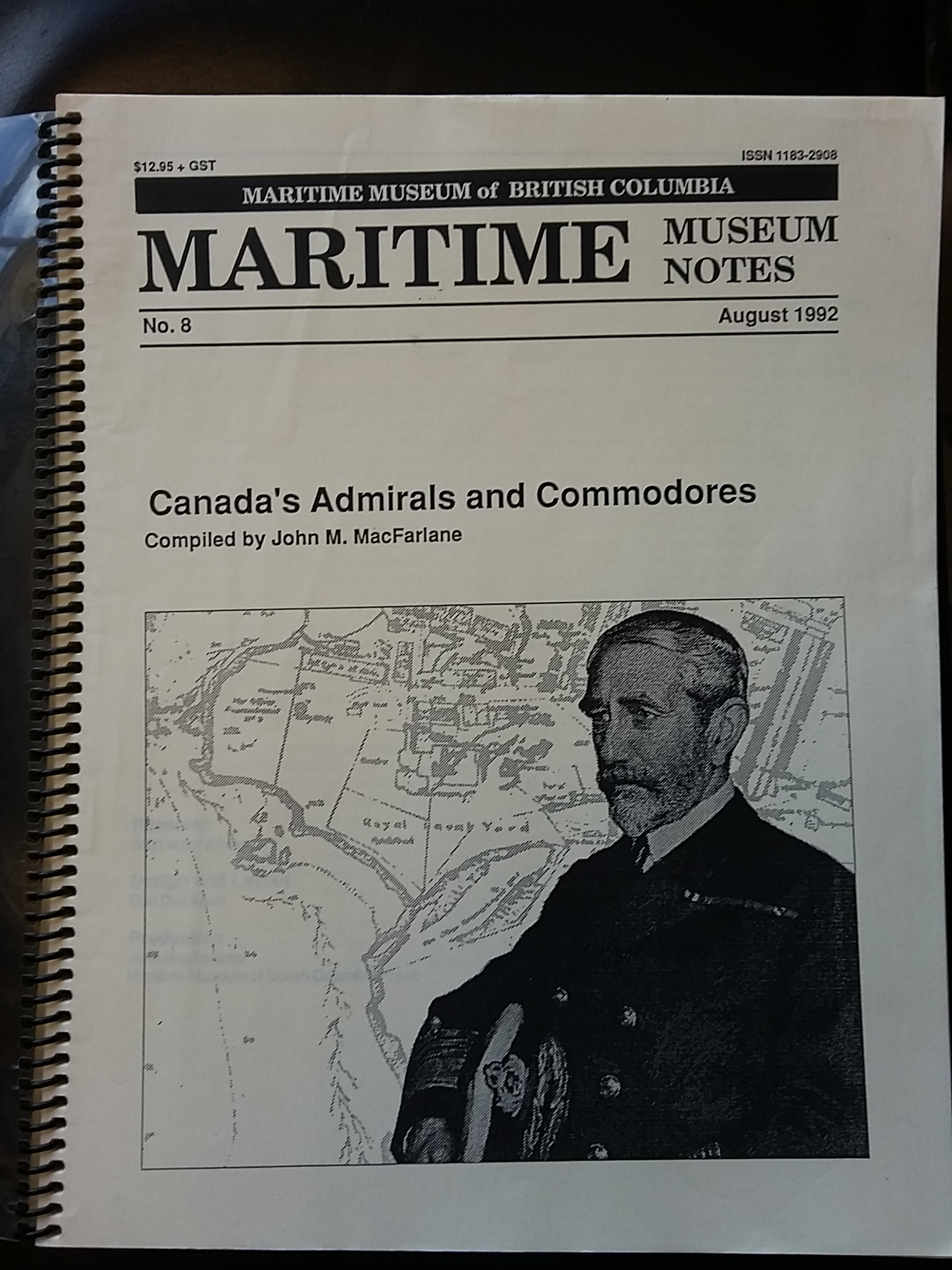 Image for Canada's Admirals and Commodores.