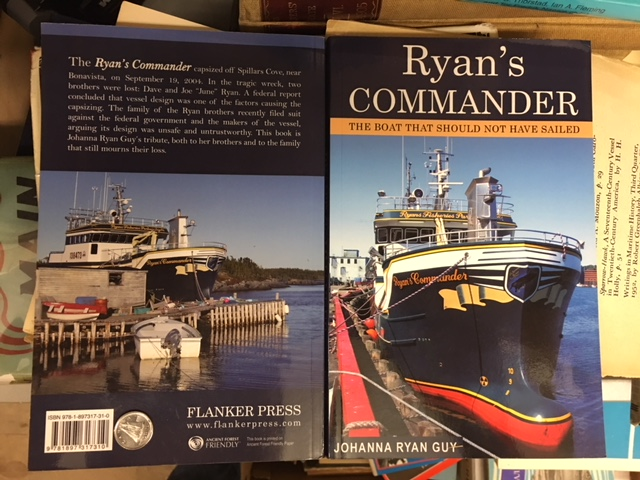 Image for Ryan's Commander : The Boat That Should Not Have Sailed. Third Printing