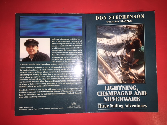 Image for Lightning, Champagne and Silverware  : Three Intense Sailing Adventures. First Edition