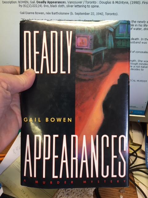 Image for Deadly Appearances. First Edition in dustjacket.