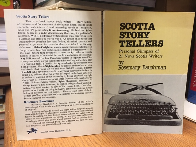 Image for Scotia Story Tellers : Personal Glimpses of 21 Nova Scotia Writers. First Edition