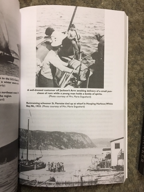 Image for Rumrunners : The Smugglers from St. Pierre and Miquelon and the Burin Peninsula from Prohibition to Present Day.  First Edition, Signed