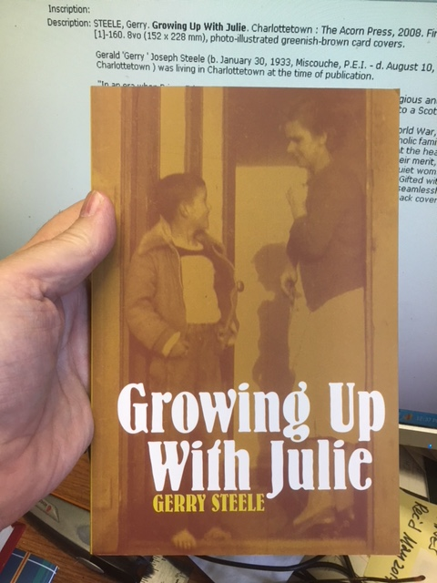 Image for Growing Up With Julie. First Edition.