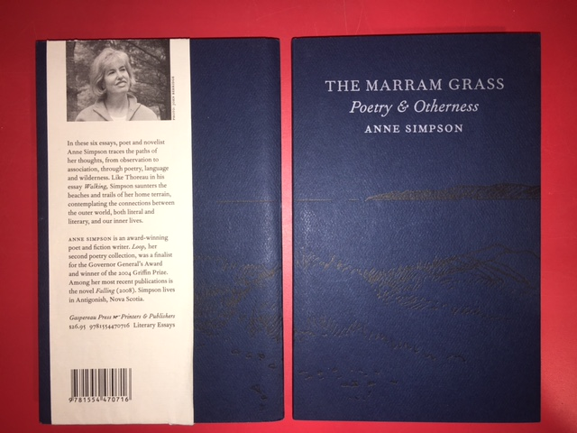 Image for Marram Grass : Poetry & Otherness.  First Edition