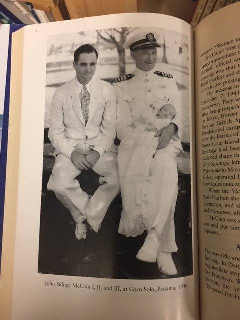 Image for A Leader Born : The Life of Admiral John Sidney McCain, Pacific Carrier Commander. First Edition in dustjacket