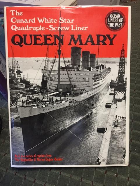Image for Cunard White Star Quadruple-screw North Atlantic Liner Queen Mary. Patrick Stephens reprint in dustjacket