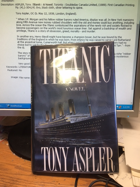 Image for Titanic : A Novel. First Edition in dustjacket
