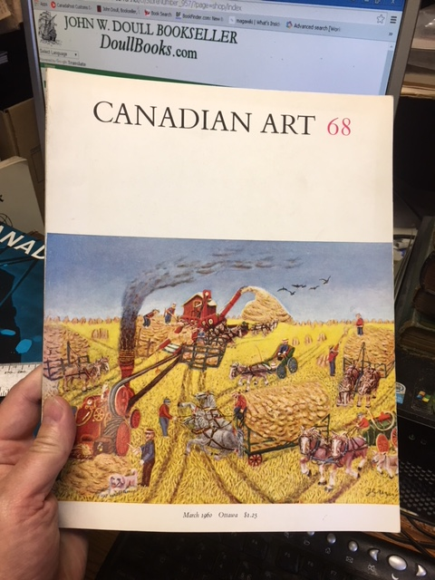 Image for Canadian Art 68. Vol. 17. No. 2. March 1960
