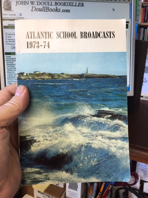Image for Atlantic School Broadcasts Presented by the Canadian Broadcasting Corporation and Affiliated Private Stations in co-operation with the Departments of Education of Nova Scotia, New Brunswick, Prince Edward Island and Newfoundland, 1973-1974