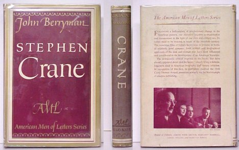 Image for Stephen Crane. First Edition in dustjacket.