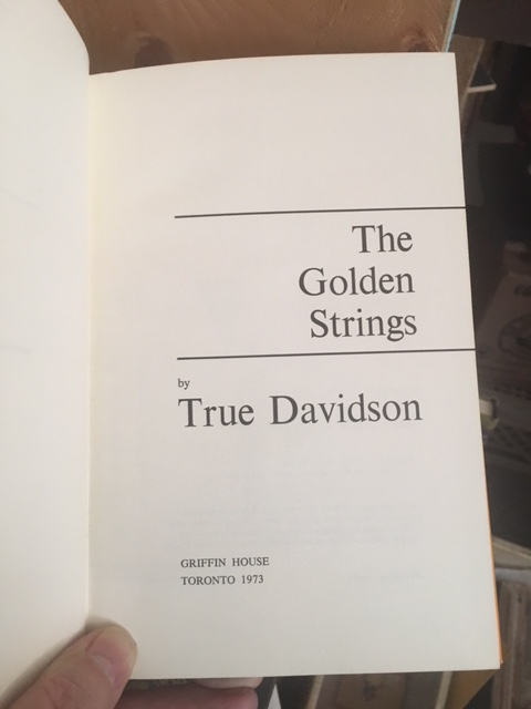 Image for Golden Strings. First Edition in dustjacket.