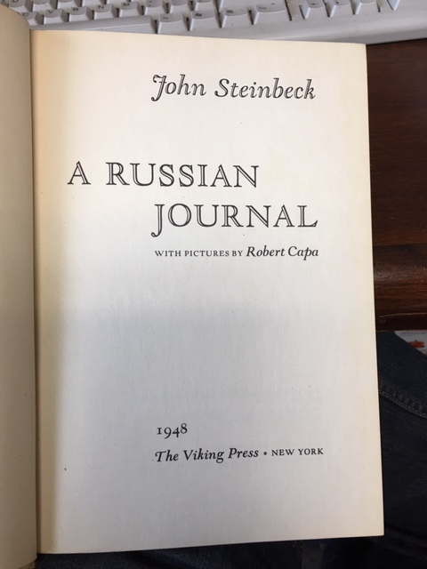 Image for A Russian Journal.  First Edition