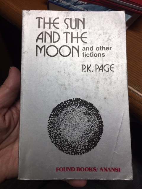 Image for The Sun and the Moon and other fictions. First Anansi Paperback Edition.