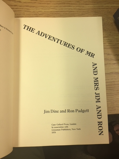 Image for The Adventures of Mr and Mrs Jim and Ron.  First Edition, Paperback