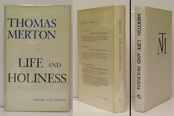 Image for Life and Holiness. First Edition in dustjacket