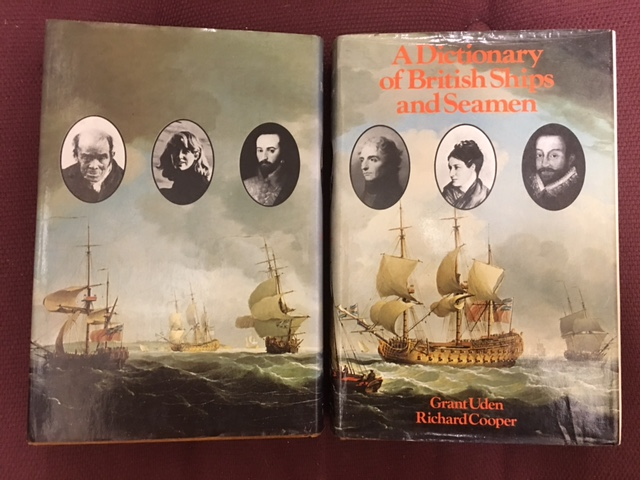 Image for A Dictionary of British Ships and Seamen.  First Edition in dustjacket