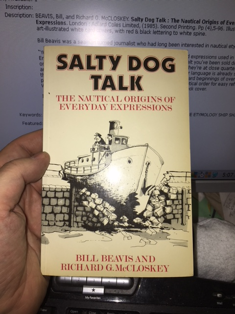 Image for Salty Dog Talk : The Nautical Origins of Everyday Expressions