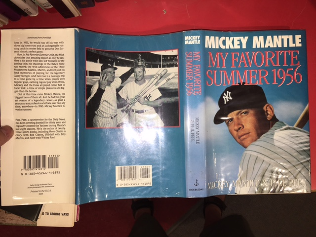 Image for My Favorite Summer 1956.  Second Printing in dustjacket. Signed copy