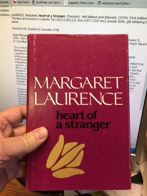 Image for Heart of a Stranger. First Edition in dustjacket