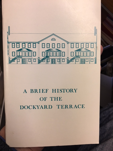 Image for Brief History of the Dockyard Terrace. First Edition.