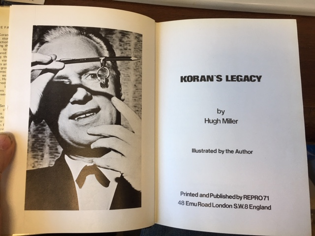 Image for Koran's Legacy. First Edition. in dustjacket
