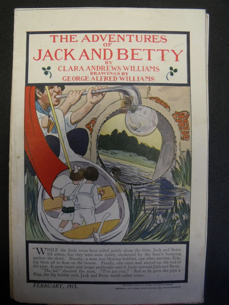 Image for Adventures of Jack and Betty. February, 1915