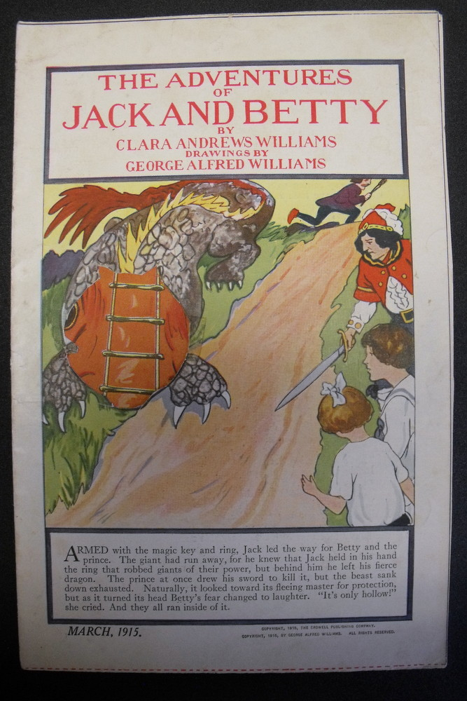Image for Adventures of Jack and Betty. March, 1915