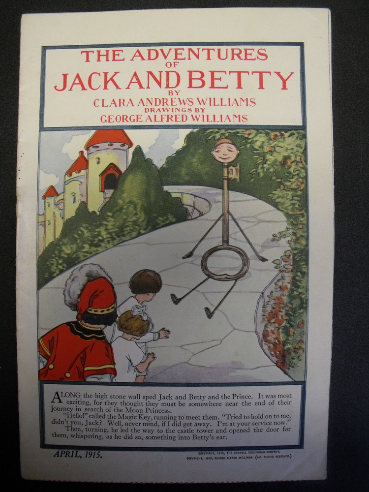 Image for Adventures of Jack and Betty. April, 1915